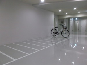 Liberty Cove House Bicycle Parking