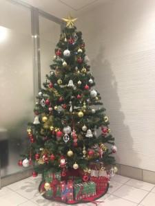 Liberty Cove house Christmas Tree