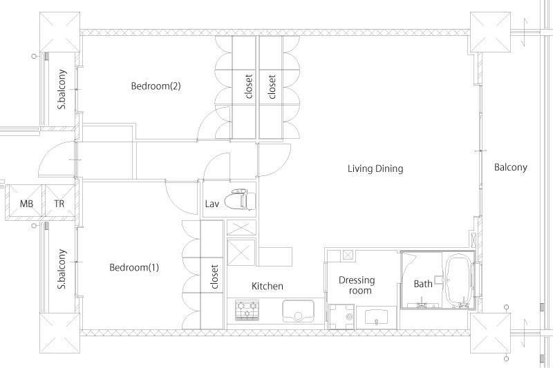 Liberty Cove House – Yokosuka Naval Base Housing Floor Plans